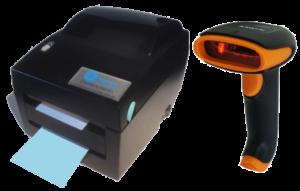 apothekersprinter en scanner Labelcare apotheek 2D-scannen